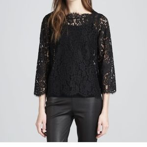 9176c8f7cdb967 Joie Tops - Joie Elvia Scallop Lace Blouse